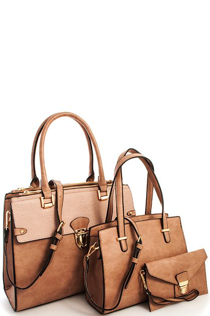 3in1 Fashion Modern Princess Satchel - orangeshine.com