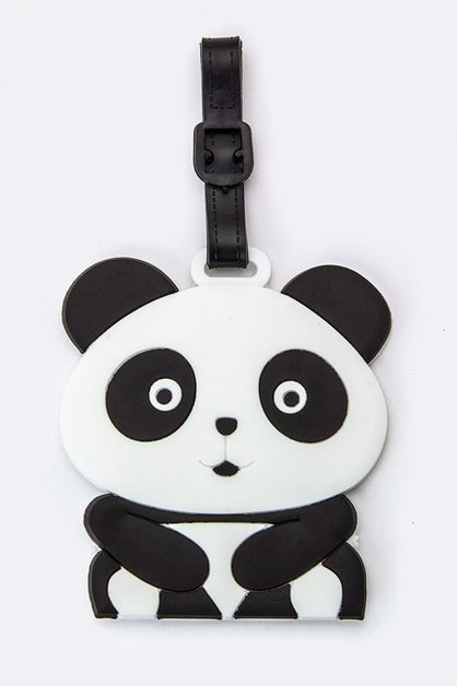 Panda Jelly Bag and Luggage Tag - orangeshine.com