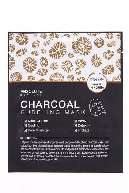 K BEAUTY BUBBLING CHARCOAL MASK PACK - orangeshine.com