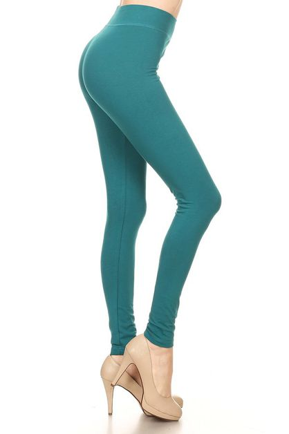 Cotton spandex full legging - orangeshine.com