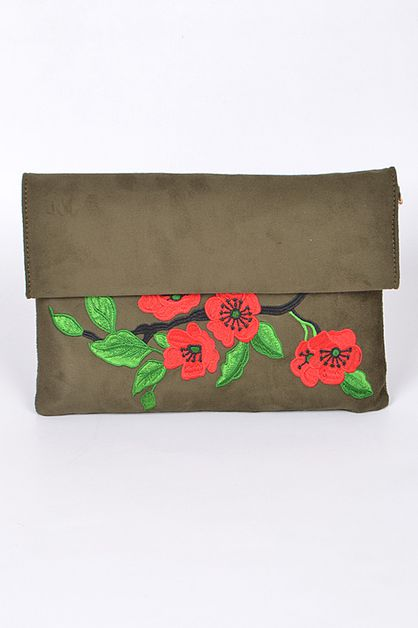 FLORAL CUTE CLUTCH - orangeshine.com