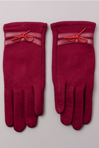 Ribbon Tie Winter Gloves - orangeshine.com