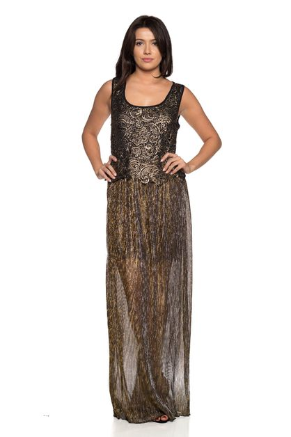Modern formal maxi dress - orangeshine.com