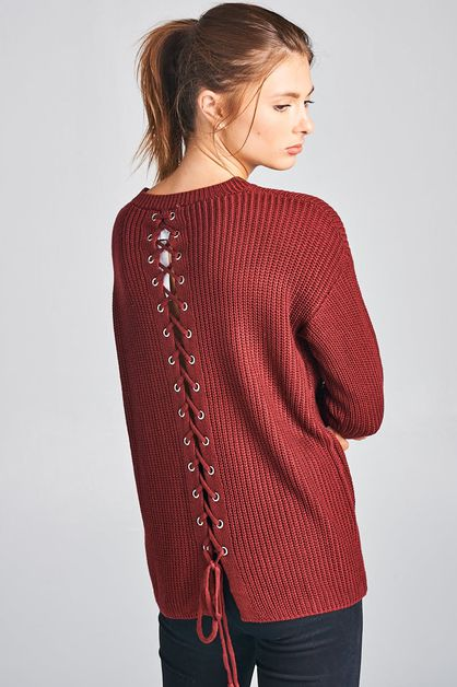 X-pattern Sweater - orangeshine.com