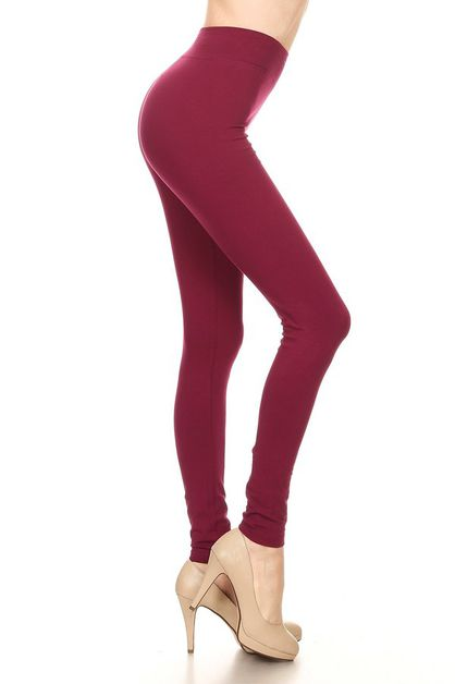 Cotton full legging - orangeshine.com