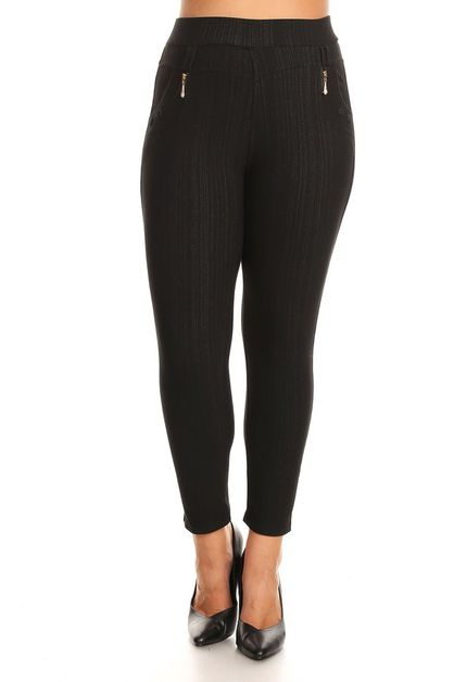 JEGGINGS WITH FLEECE - orangeshine.com