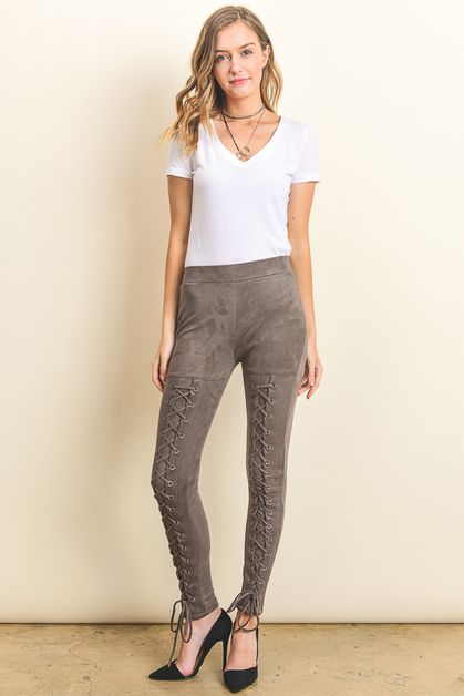Lace Up Pant - orangeshine.com