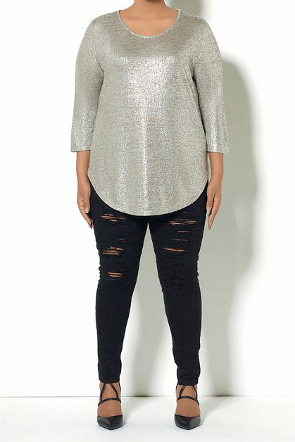 METALLIC TOP - orangeshine.com