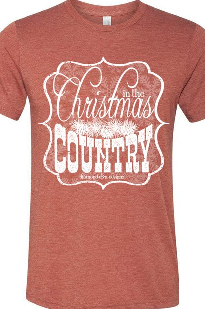 Christmas In The Country Tee - orangeshine.com