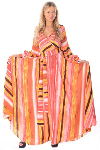 FLOW MAXI DRESS - orangeshine.com