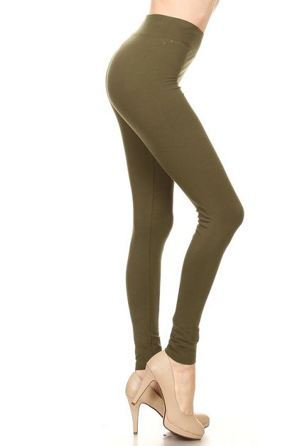 Cotton spandex legging - orangeshine.com
