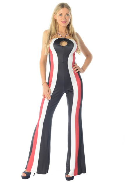 HALTER NECK  JUMPSUIT - orangeshine.com