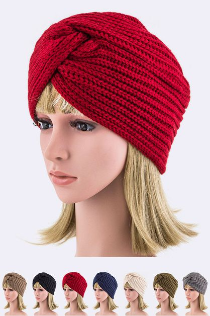 Interlock Fashion Beanie - orangeshine.com