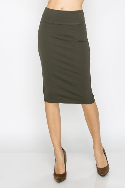 YOUNG CONTEMPORARY SOLID SKIRTS - orangeshine.com