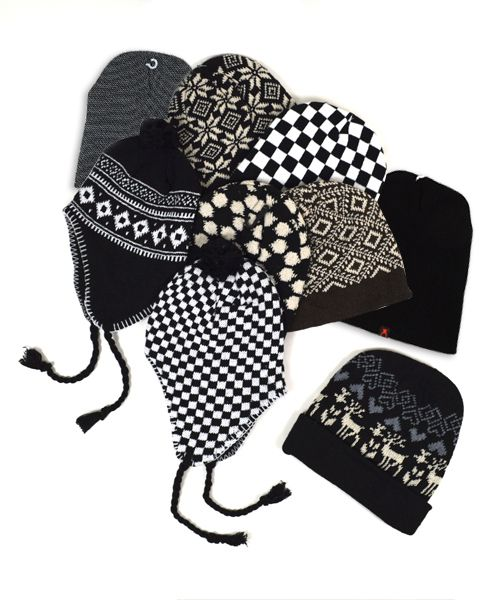 60pc Random Assorted Ski Hats - orangeshine.com
