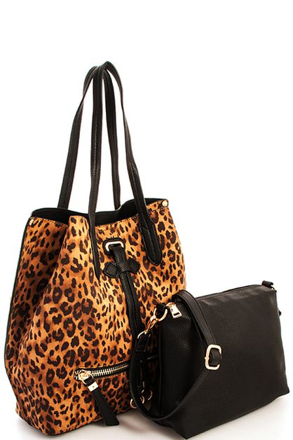 Leopard Princess Satchel - orangeshine.com