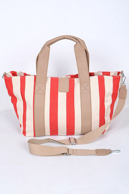 STRIPED TOTE - orangeshine.com