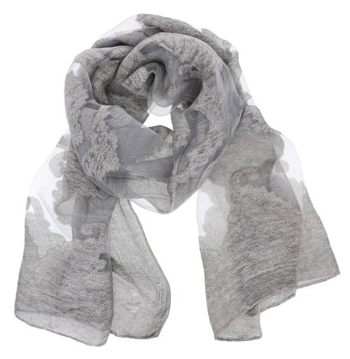 Sheer Cute Oblong Scarf - orangeshine.com