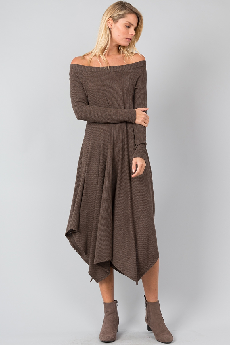 Convertible Sweater Dress - orangeshine.com