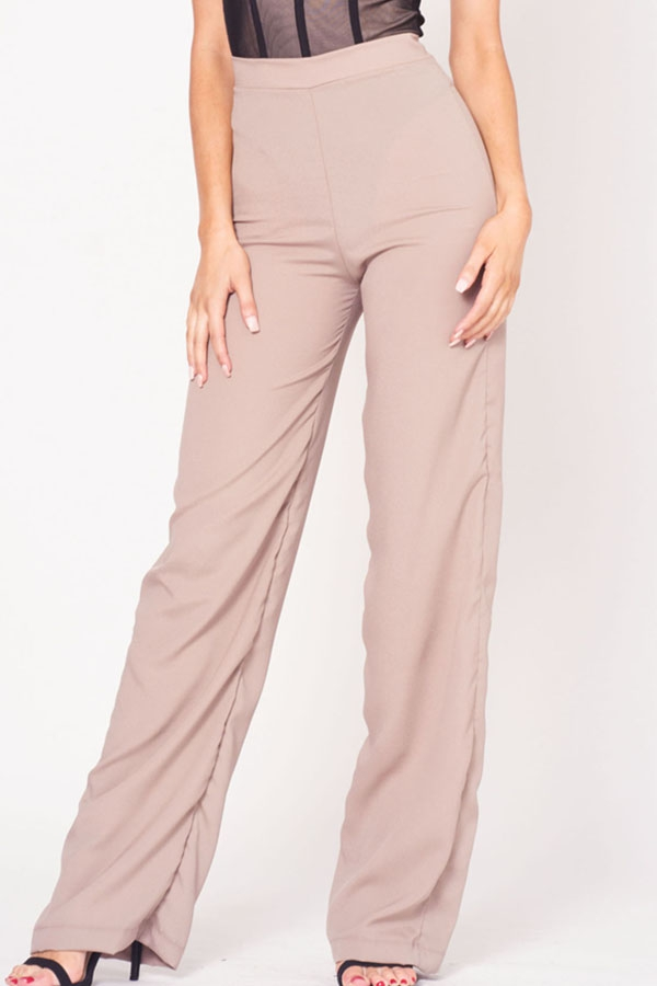 HIGH WAIST BELL BOTTOM PANTS - orangeshine.com