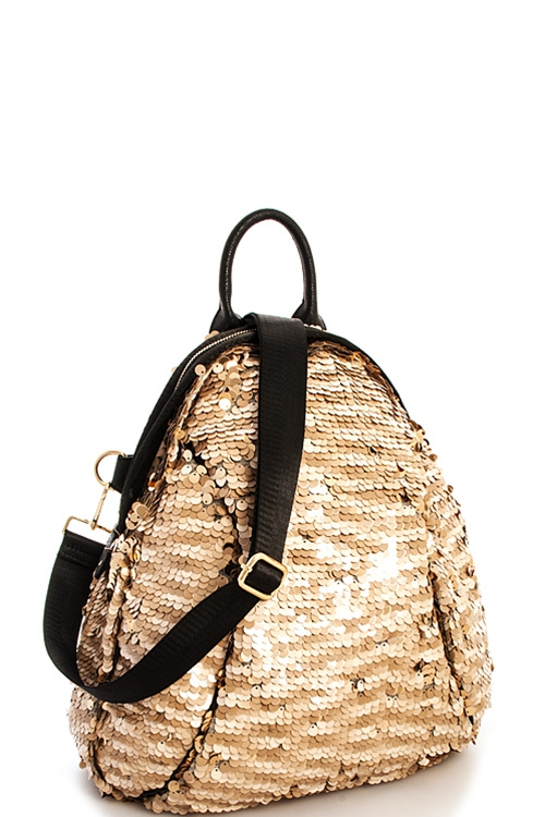 Sparkling Sequences Backpack - orangeshine.com