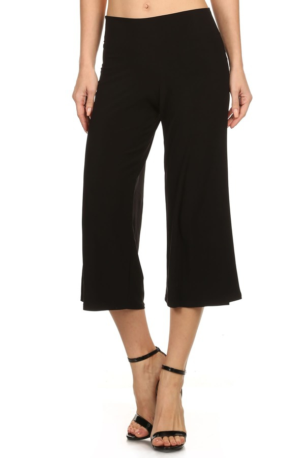 Black Capri Pants - orangeshine.com