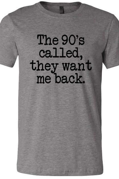 The 90s called Soft Tee - orangeshine.com