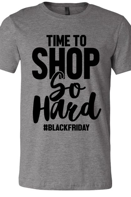 Shop So Hard Black Friday Tee - orangeshine.com