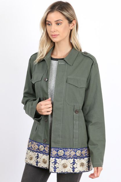 Military Novelty Jacket - orangeshine.com