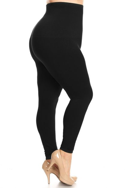 Compression Leggings Queen Size - orangeshine.com