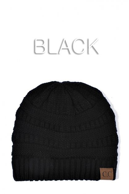 CC Fashion Knit Beanie HAT - orangeshine.com