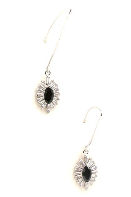 CUBIC ZIRCONIA DANGLE EARRING - orangeshine.com