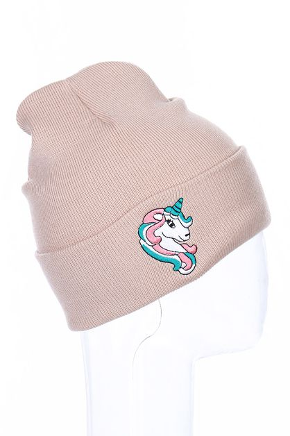 Unicorn Embroidered Beanies - orangeshine.com