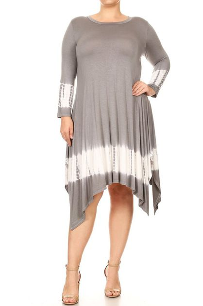 PLUS SIZE TUNIC DRESS - orangeshine.com