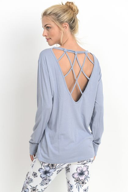 STRAPPY BACK ACCENT TOP - orangeshine.com