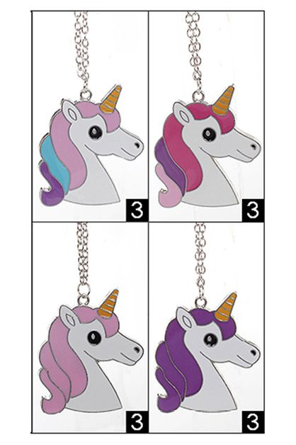 Unicorn Pendant Necklace - orangeshine.com