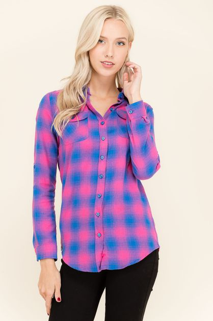 Flaid Flannel Shirt - orangeshine.com