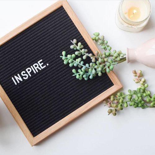 10 BY 10 Oak Felt Letterboard - orangeshine.com