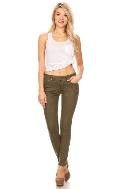 WOMEN TWILL PANTS - orangeshine.com