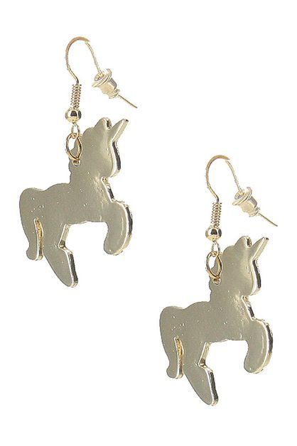 Unicorn Dangle Earring - orangeshine.com