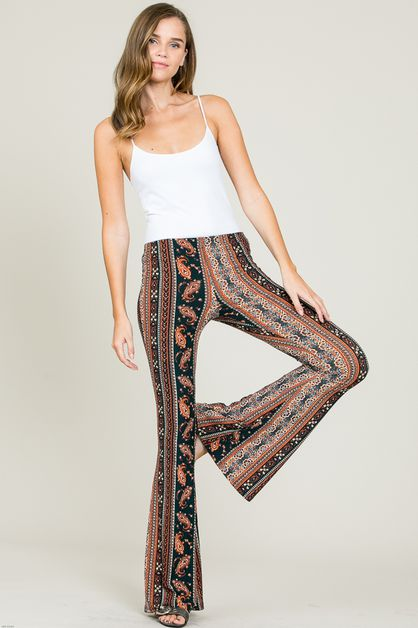 BOHO BELLBOTTOM PANTS - orangeshine.com