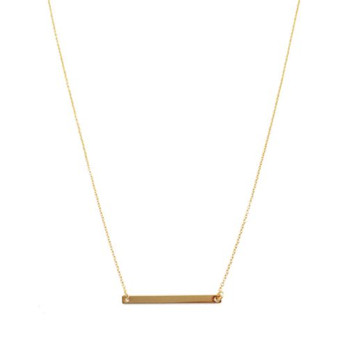 Classic Bar Necklace - orangeshine.com