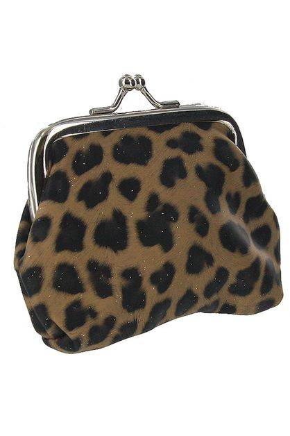 Animal Print Coin Purse - orangeshine.com