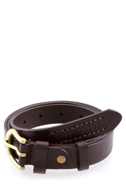 SIMPLE LEATHER BELT - orangeshine.com