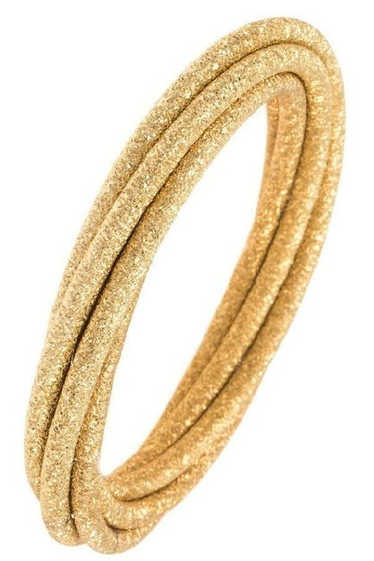 Intertwined Textured Bangle Bracel - orangeshine.com