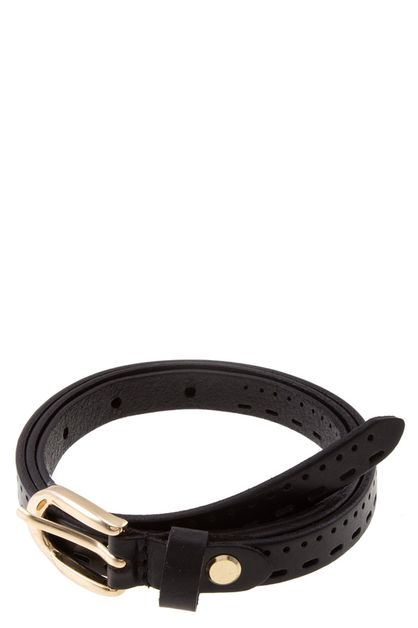 SKINNY GENUINE LEATHER BELT - orangeshine.com
