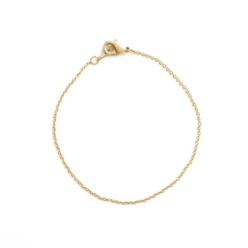 Whisper Thin Chain Bracelet - orangeshine.com