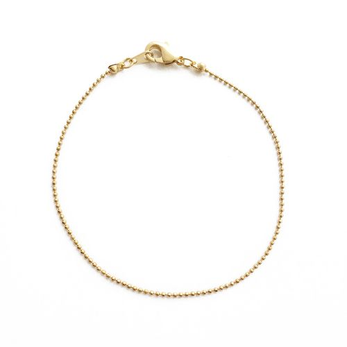 Whisper Thin Ball Chain Bracelet - orangeshine.com
