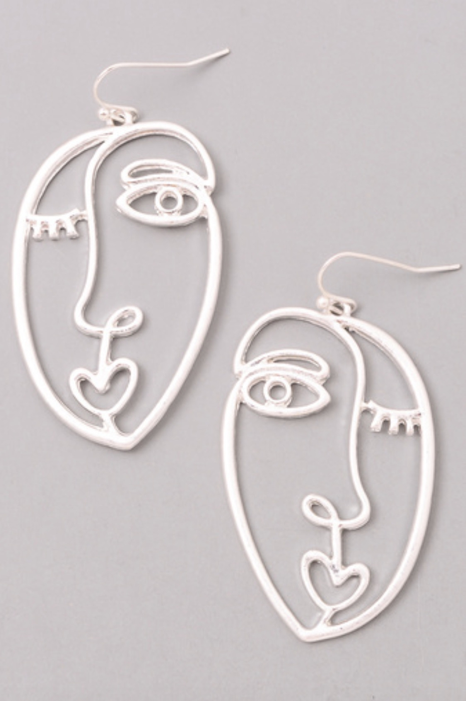 PICASSO INSPIRED DANGLE EARRINGS - orangeshine.com