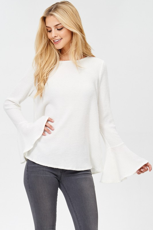 BELL LONG SLEEVE TOP - orangeshine.com
